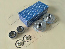 FOR VW BEETLE 1.4 1.6 1.8 2.0 2.3 V5 FRONT WHEEL HUB HUBS FLANGE BEARINGS KIT