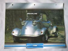FMR Tiger Dream Cars Card