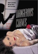 Dangerous Curves (DVD) Maxine Bahns, Robert Carradine, David Carradine NEW