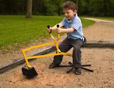 Five Legs Sandbox Sand Digger Backhoe Garden Beach Outdoor Toy Excavator for Kid