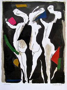 MARINO MARINI Hand Signed Lithograph Le Sacre Du Printemps 1973