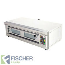 """""""NEW"""" COMMERCIAL BENCHTOP ELECTRIC PIZZA OVEN -STONE-BASE - SINGLE PHASE"""