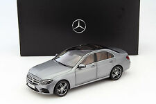 I-SCALE Mercedes-Benz E-Class (W213) AMG DESIGNO SELENITE GREY DEALER 1:18*New