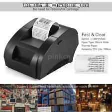 58mm USB Thermal Printer Receipt Ticket POS Cash Drawer Retail Printing L6d6