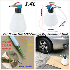 1.4L Car Brake Fluid Oil Change Filling Bleeder Bottle Air Pumping Emptying Tool