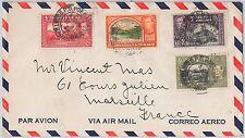 TRINIDAD & TOBAGO postal history - AIRMAIL COVER to FRANCE 1949