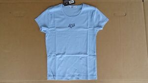 Fox Racing Girls T Shirt Light Blue Size 12 Large New