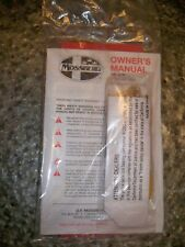 Mossberg Owner's Manuals 100 ATR Bolt action centerfire Rifle + safety lock