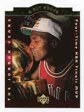 1996 Upper Deck A Cut Above Michael Jordan #CA9 Finals MVP Die Cut Chicago Bulls