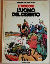 ferdinando tacconi L'UOMO DEL DESERTO un uomo un'avventura 5 CEPIM 1977 akaba