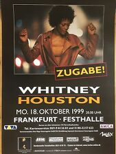 WHITNEY  HOUSTON    1999      orig.Concert Poster   DIN A0   118 x 84 cm