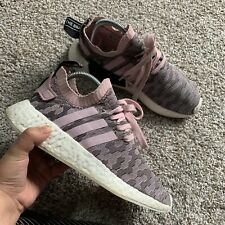 Womens ADIDAS NMD_R2 Primeknit Pink Trainers BY9521 Camo Sneakers 7.5 Shoes