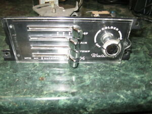 AMC AMX Used Javelin Heater Control Unit With A/C Box 1