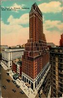 Fred L French Building 1910 New York City Postcard