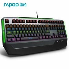 RAPOO V710 Black RGB Backlit Mechanical Gaming Keyboard BLUE Switch 16551 [F36]