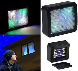 Fake TV Simulator LED Light Home Security Burglar Thief Deterrent Imitator Devic