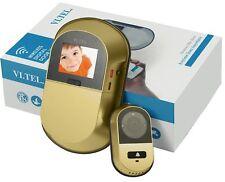 Vi.Tel. E0551 SPIONCINO Digitale Wi-Fi, Oro ARGENTO SOS top di gamma