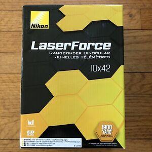 Nikon laser force 10 x 42 range finder binoculars