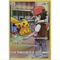 Pikachu 241/236 Secret Rare Pokemon S&M Cosmic Eclipse EN NM/Mint