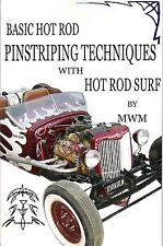 Learn How To DIY Pinstriping Book HOTRODSURF ® Hot Rod Surf by MWM free hand