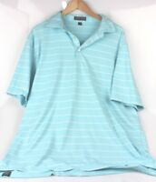 Peter Millar Summer Comfort Mens Polo Golf Shirt Short Sleeve Size XL