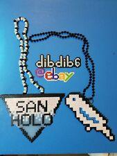 San Holo kandi perler necklace set bitbird rave PLUR EDC
