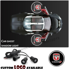 For Dodge Car Door Led Welcome Laser Projector Dodge Logo Ghost Shadow Led Light