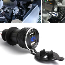 1x New 4.2A Motorcycle Dual USB Charger CNC For BMW F800GS F650GS F700GS R1200GS