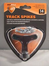 """New Sof Sole 14 Track Spikes 3/8"""" Needle Steel Wrench Included Running Jog Field"""