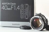 【MIN】VOIGTLANDER NOKTON CLASSIC 40mm F1.4 VM MF Lens for Leica M Mount from Japa