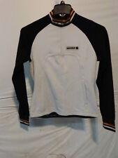 Sportful Women's Long Sleeve Midweight Cycling Jersey Small White/Black 1/4 Zip