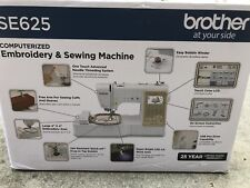 Brother SE625 Combination Computerized Sewing and Embroidery Machine - New
