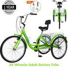 Best Bikes For Seniors - Adult Seniors Trike Tricycle 3-Wheel Bike w/Basket Review