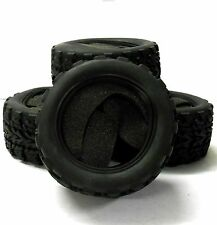 TY-003 1/10 Escala Off Road MONSTER TRUCK Neumáticos X 4 Negro 115mm X 55mm V3