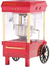 Nostalgia Old-Fashioned Red Kettle Popcorn Maker Popper Machine