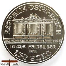 2018 1oz Austrian Silver Philharmonic 1 ounce Silver Bullion Coin unc: