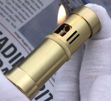 Vintage lighters Handmade trenches pure copper brass kerosene lighter retro