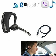 Bluetooth 4.0 Stereo Wireless Business Work Headset Earphone For Phone Samsung