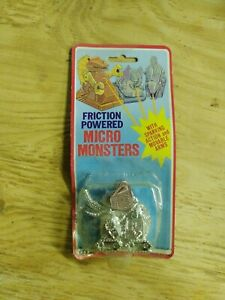 Vintage Friction Powered Micro Monster FC Famous Toys 1980s