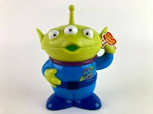 Toy Story Green Alien Gumball Coin Bank Sealed Disney Pixar Pizza Planet C4