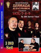 Mastering SERRADA ESCRIMA (VOL-7-8-9) 3 DVD SET