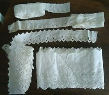 Antique Vintage Broderie Anglaise over 16 yards!