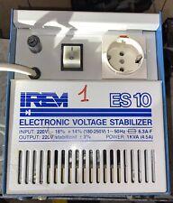 IREM ES-10 Stabilizzatore Di Tensione Di Rete Automatico 220VAC 1KVA