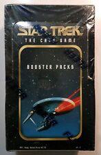 STAR TREK THE CARD GAME SEALED BOOSTER BOX 36 PACKS FLEER 1996