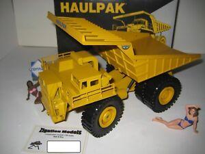 Wabco Haulpak Tombereau Jaune #2720.2 Conrad 1:50 Emballage Origine