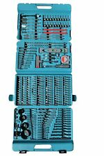 Makita Drill and Bit Set Screwdriver Kit Construction Tool Box Professional