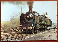 French Pacific Class 2-3-1 K 22 Train Post Card