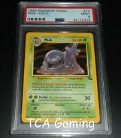 PSA 9 MINT Muk 13/62 Fossil Set HOLO RARE Pokemon Card