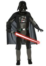 CHILD DELUXE DARTH VADER COSTUME SIZE MEDIUM 8-10 (with small defect)