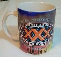 Vintage 1996 Super Bowl XXX 30 Pittsburgh Steelers Coffee Mug Cup Free Shipping